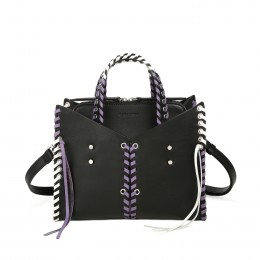 MARA PLAITS Small Satchel