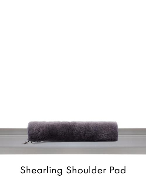 Shearling Shoulder Pad