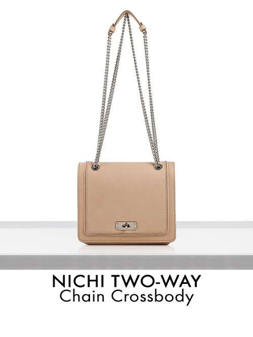 NICHI TWO-WAY Chain Crossbody