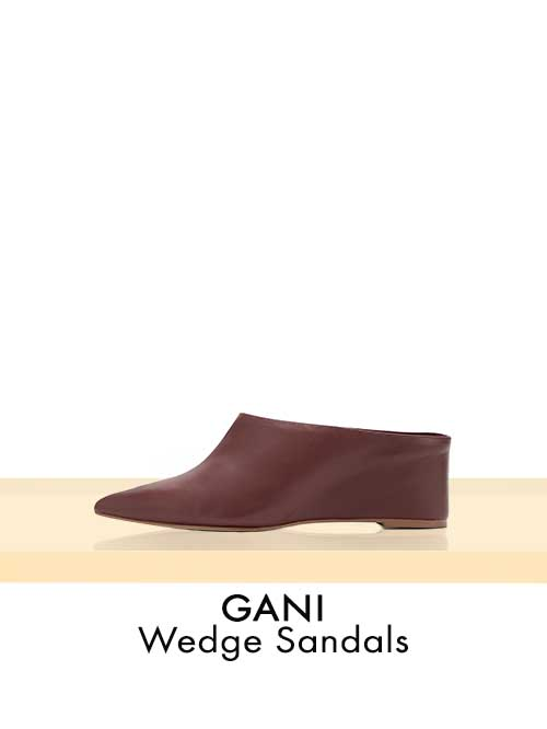GANI Wedge Sandals